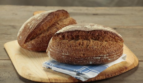 rye, batard, 1.5 lb, 1.5 pound, dark rye, sourdough rye starter, artisan loaf, artisan loaves