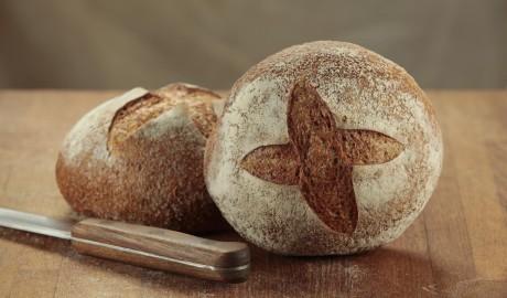 rye, boule, 2 oz, 2 ounce, dark rye, sourdough rye starter, artisan loaf, artisan loaves