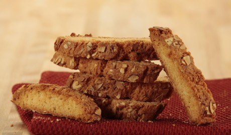biscotti, cookie, twice-baked