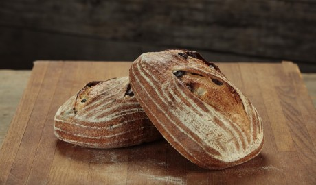 black olive, batard, artisan loaves