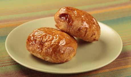 croissant, french, chocolate