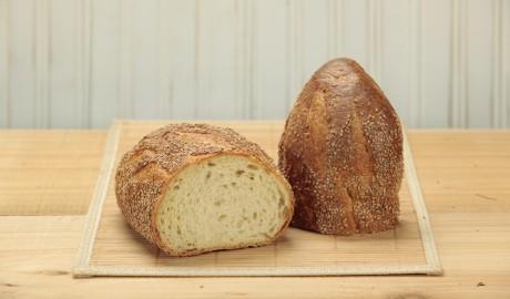 semolina, batard, italian-style, semolina flour, seeds, 1.25 lb, 1.25 pound, artisan loaf, artisan loaves